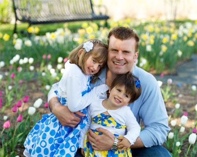 Dr. Blass and his girls
